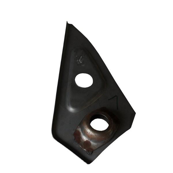 Knotenblech hinten links (f. Hebebühne)